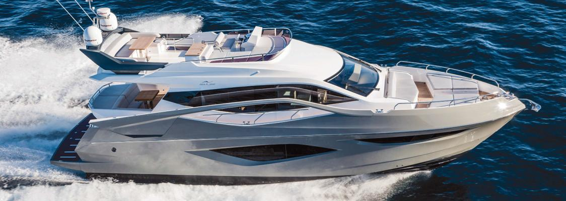 The New Numarine 60 Flybridge model