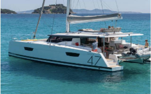 Elegence And Individuality Catamaran Saona 47