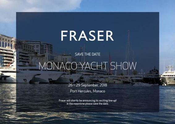 FRASER MONACO YACHT SHOW
