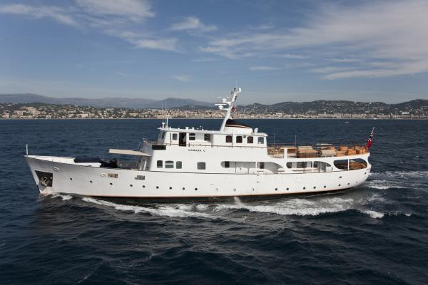 CAMARA C – Classic yacht renewed and ready for charter