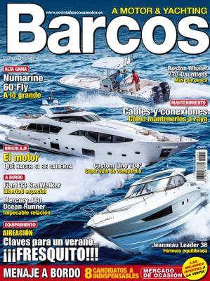 Numarine 60 Fly on Barcos Magazine in Spain