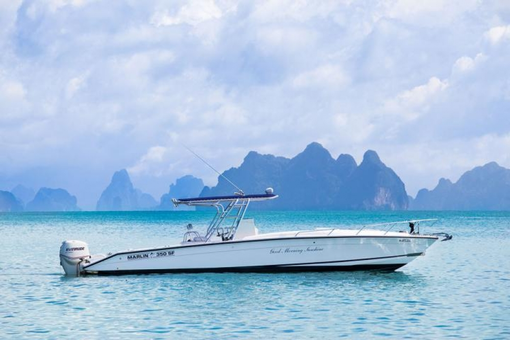Sport fishing boat 35 asia marine for Sport fishing boats