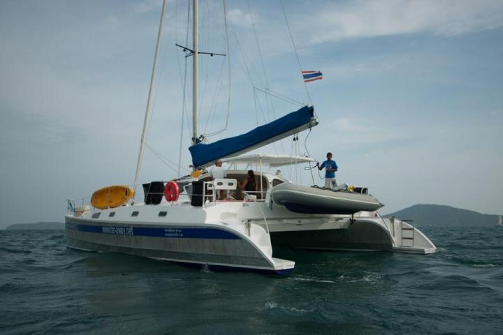 Aluminium 48 Charter Crewedboat Catamaran