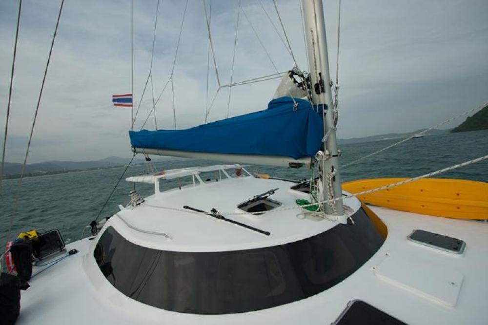 Mumby 48 charter crewedboat catamaran