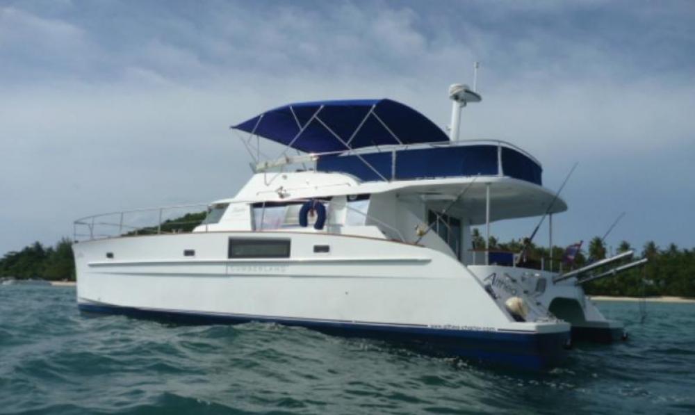 CUMBERLAND 46 charter crewedboat motor-yacht