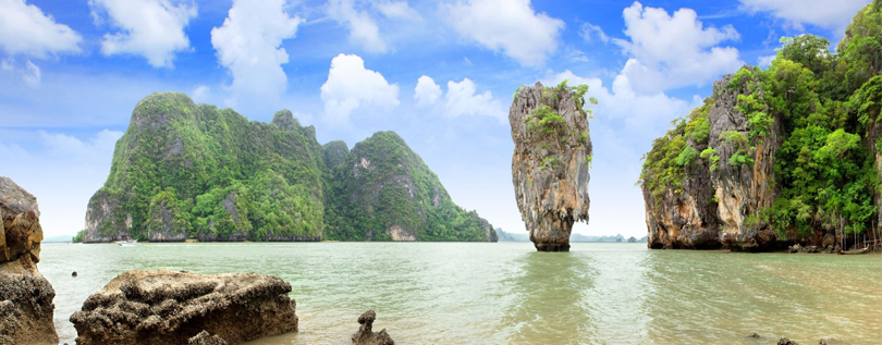 The secret cove of PhangNga Bay